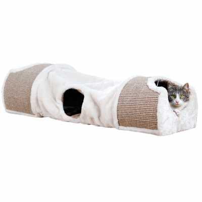 Plush Cat Nesting Tunnel