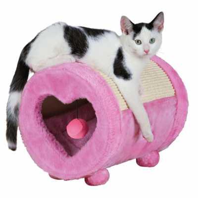 Pretty in Pink Kitten Condo