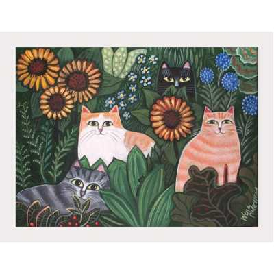 Jungle Cats Art Print