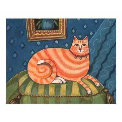 Fashionista Cat Print