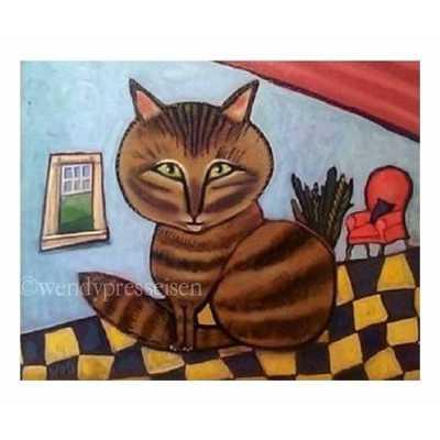 Maine Coon Cat Art Print