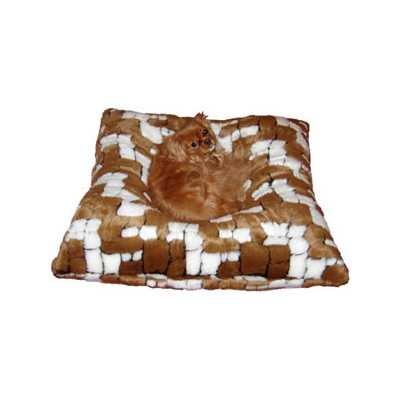 Hugger Square  - Checkerboard Pet Bed