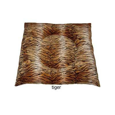 Hugger Square  - Animal Print Bed in 5 Fabric Choices