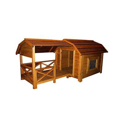 The Barn Wooden Pet House: MPL001