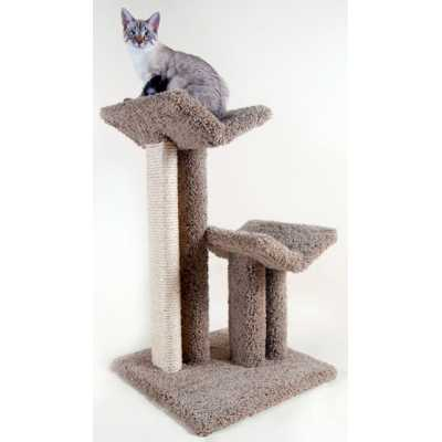 Large V Scratching Post and Perch