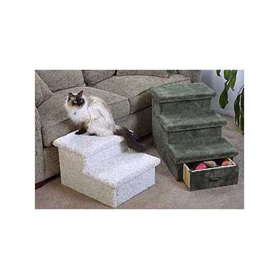 2 or 3 Level Pet Step with Optional Drawer Image