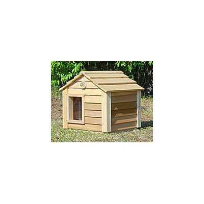 20 Inch Cedar Cat House