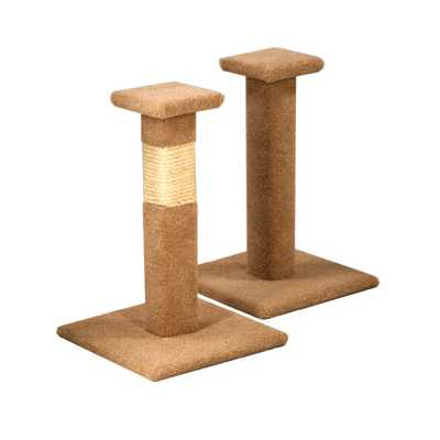 Capped Scratching Post
