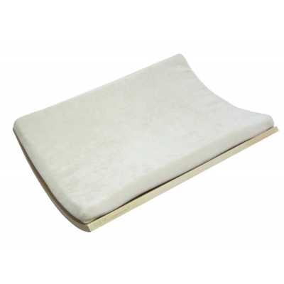 Curve Wall Cat Bed - Birch/Cream Image