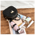 Quilted PU Leather Mini Backpack with Cat Accents