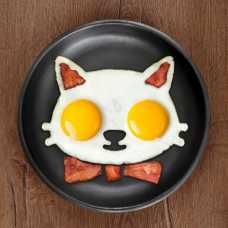 Cat Face Silicon Fried Egg Mold