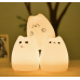Color Changing Cat LED Night Light Lamp