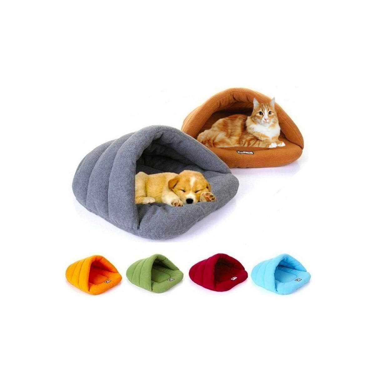 Comfy Pet Slipper Cave Bed