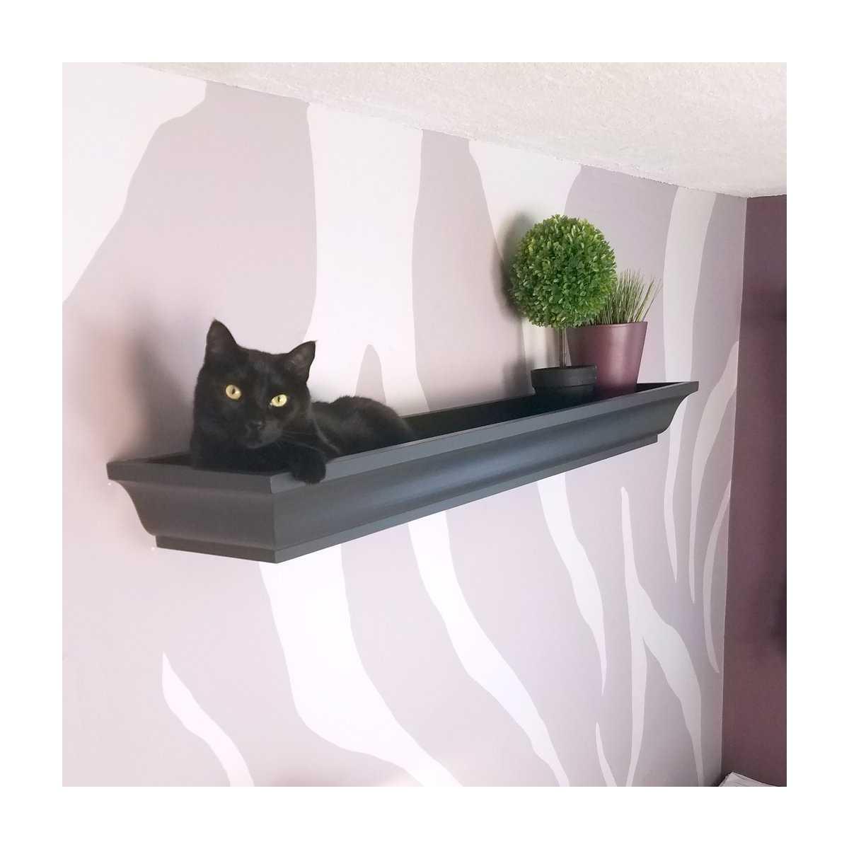Cat Crown Wall Shelf Bed Catsplay Superstore