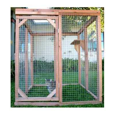 Economy Outdoor Cat Enclosure Kit