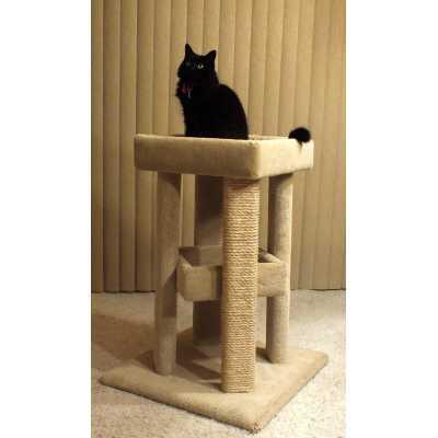 Four Corner Cat Sleeper Image