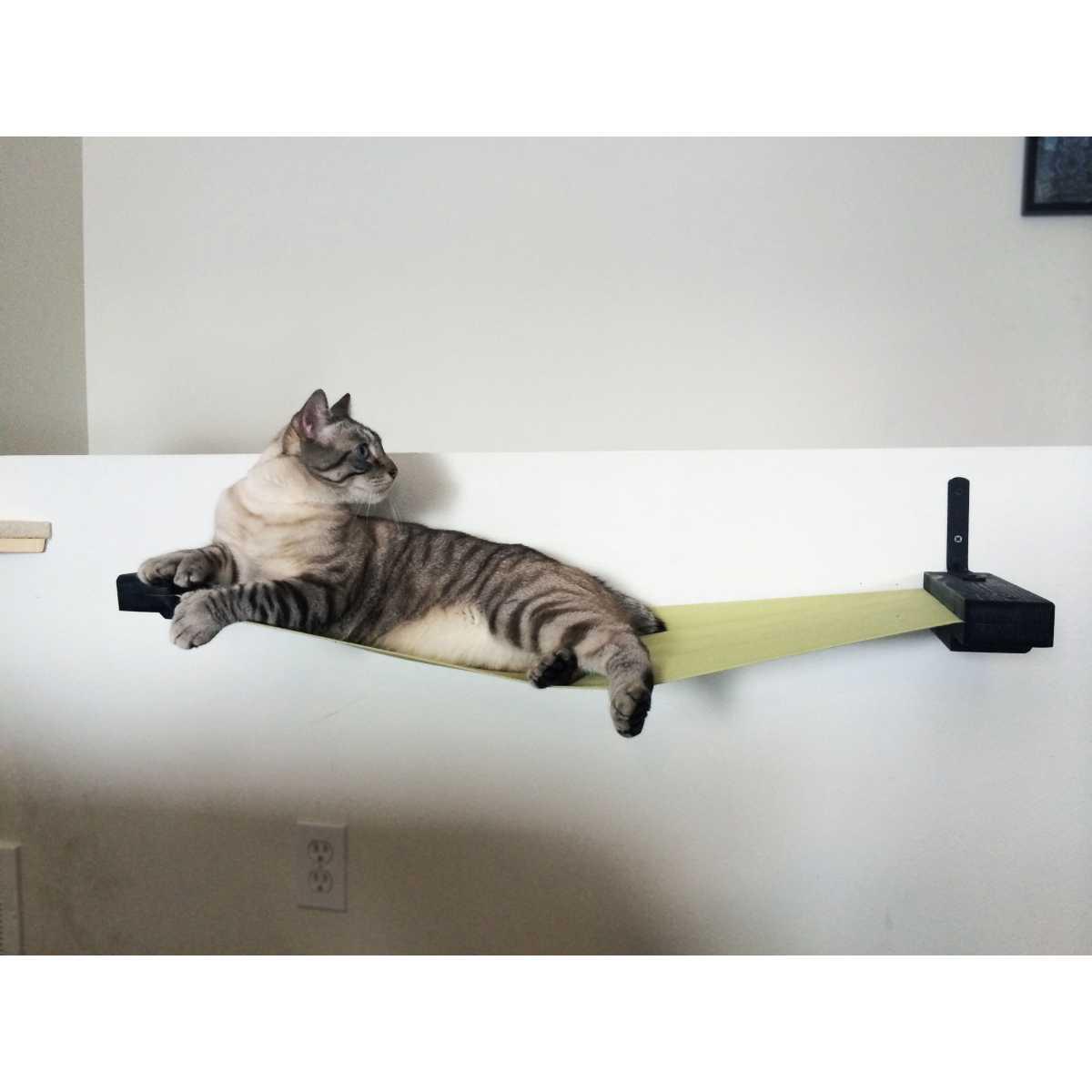 Catastrophicreations 32 Inch Hammock Cat Shelf Catsplay