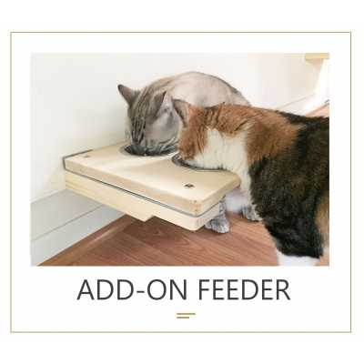 Add-on Feeder - Wall Mounted for Cats