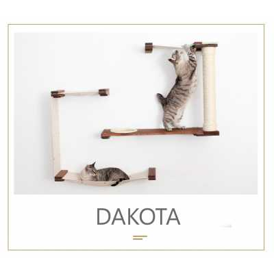 Dakota - Wall Mounted for Cats