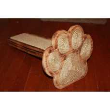 Multi Kitty Paw Shaped Cat Scratcher