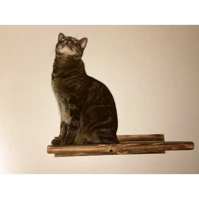 Wooden Kitty Wall Perches (Set of 3)
