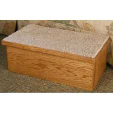 Hardwood Single Pet Step - FLASH SALE - ONLY 1 AVAILABLE