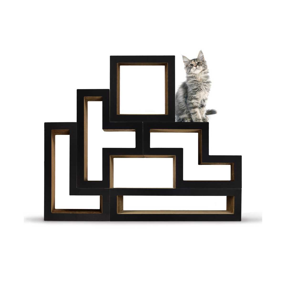 c1a9fb49015a Modular Cat Tree - Mono Black - CatsPlay Superstore