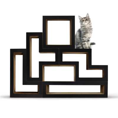 Modular Cat Tree - Mono Black