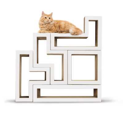Modular Cat Tree - Mono White
