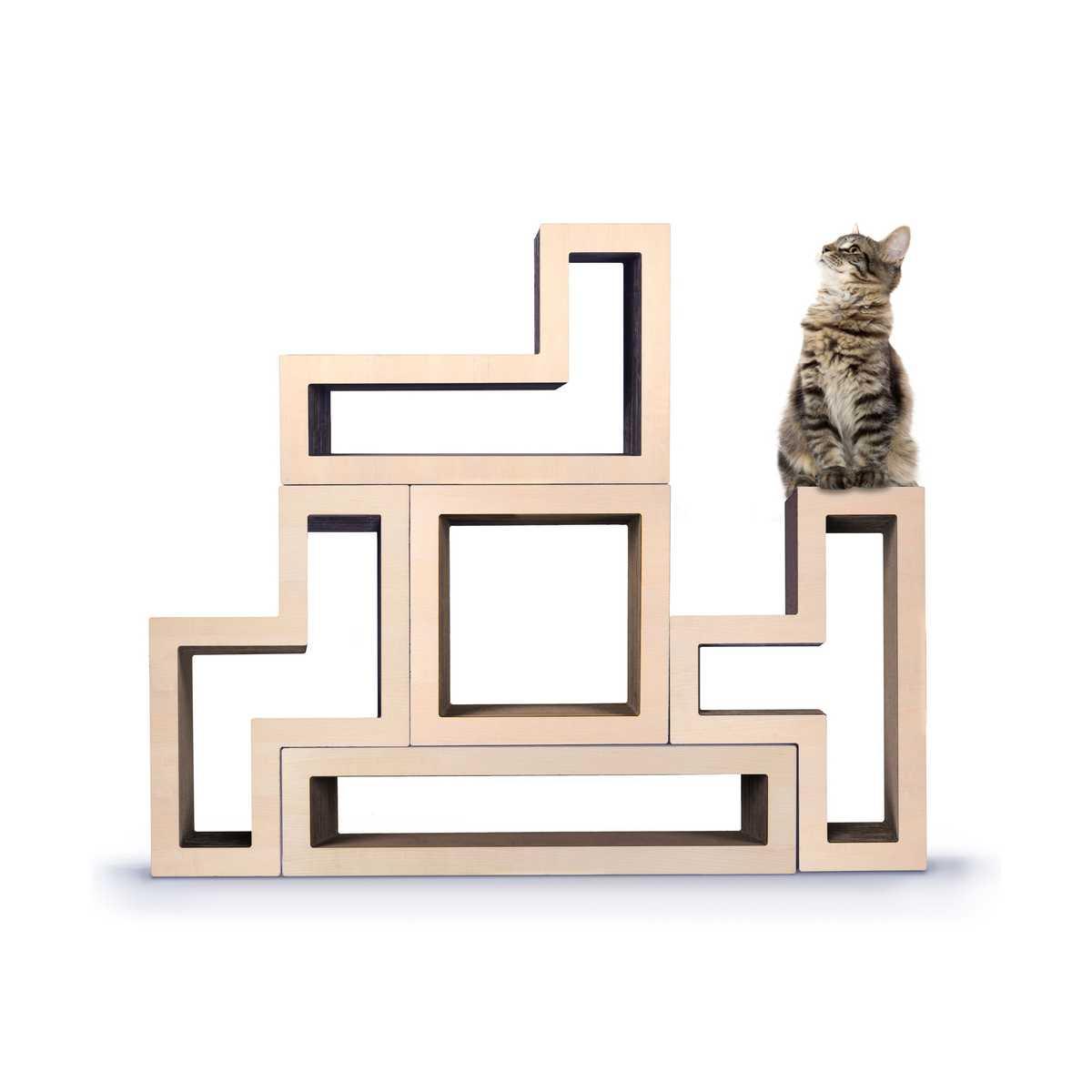 Sale Ships Free Modular Cat Tree Wood Maple