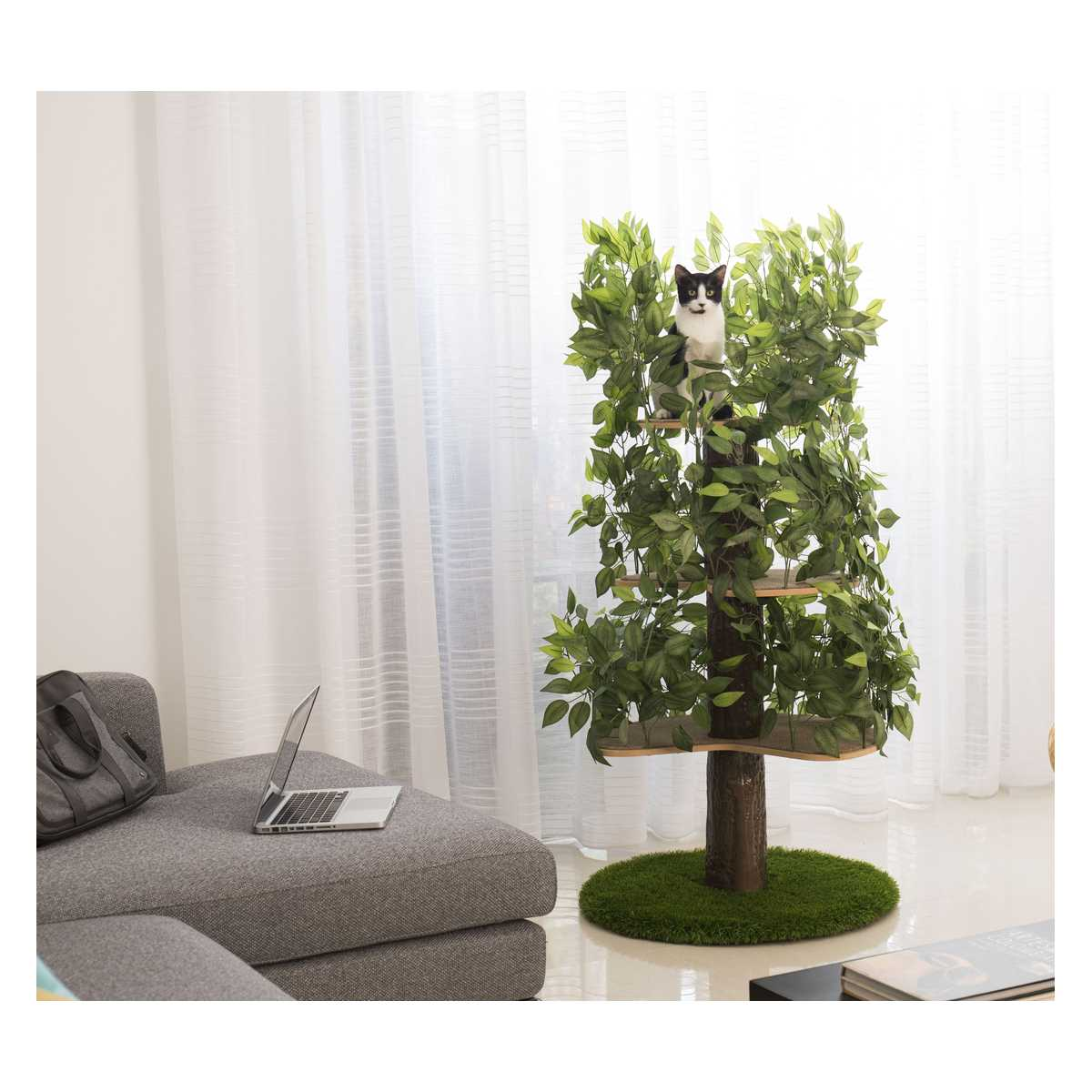Luxury Cat Tree Large Round Base Catsplay Superstore