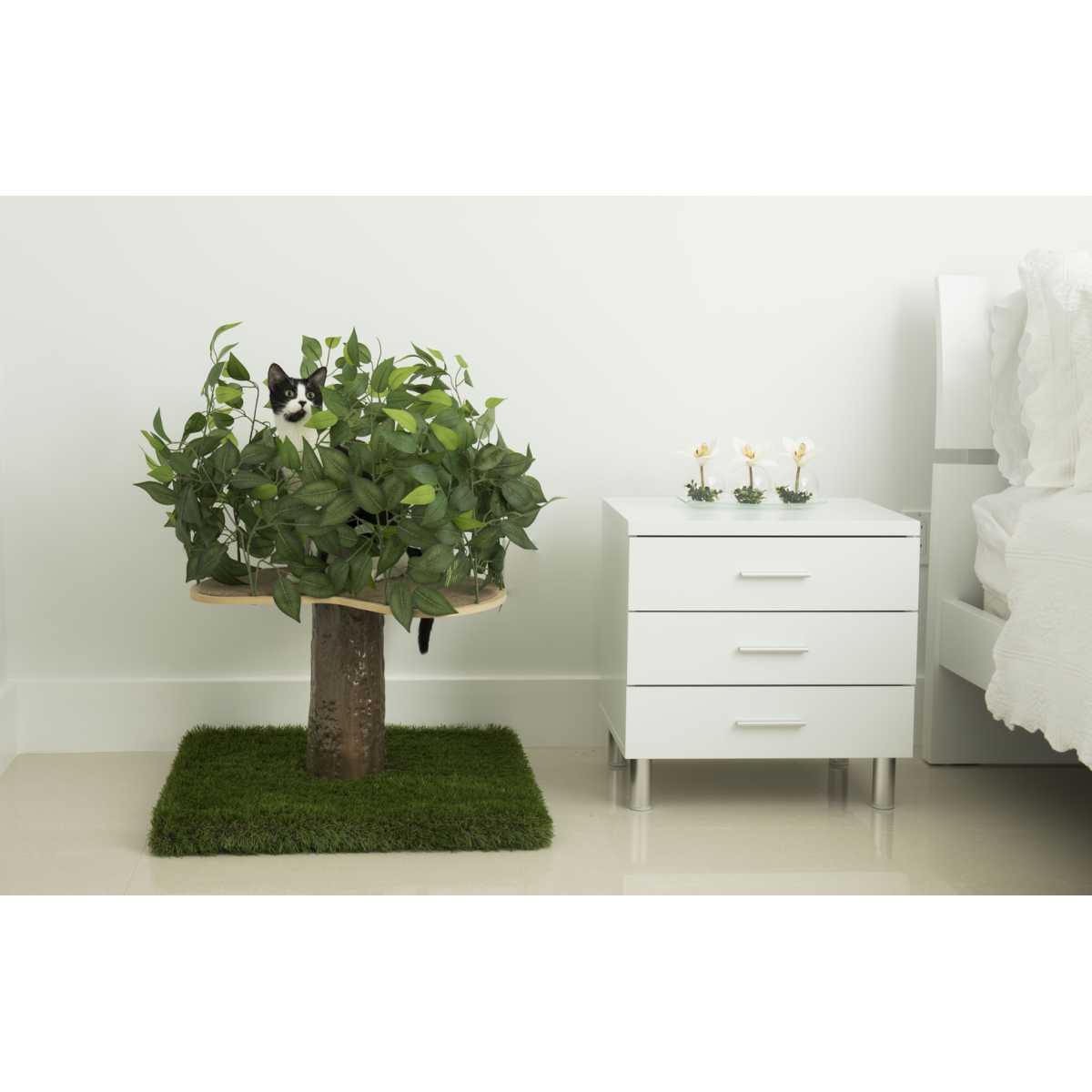 Luxury Cat Tree Small Square Base