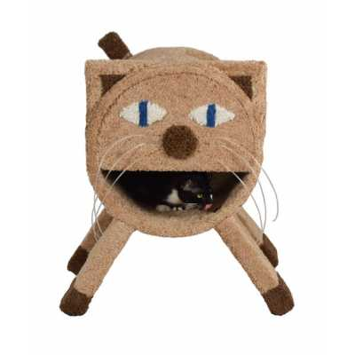 Kitty Face Cat Tunnel