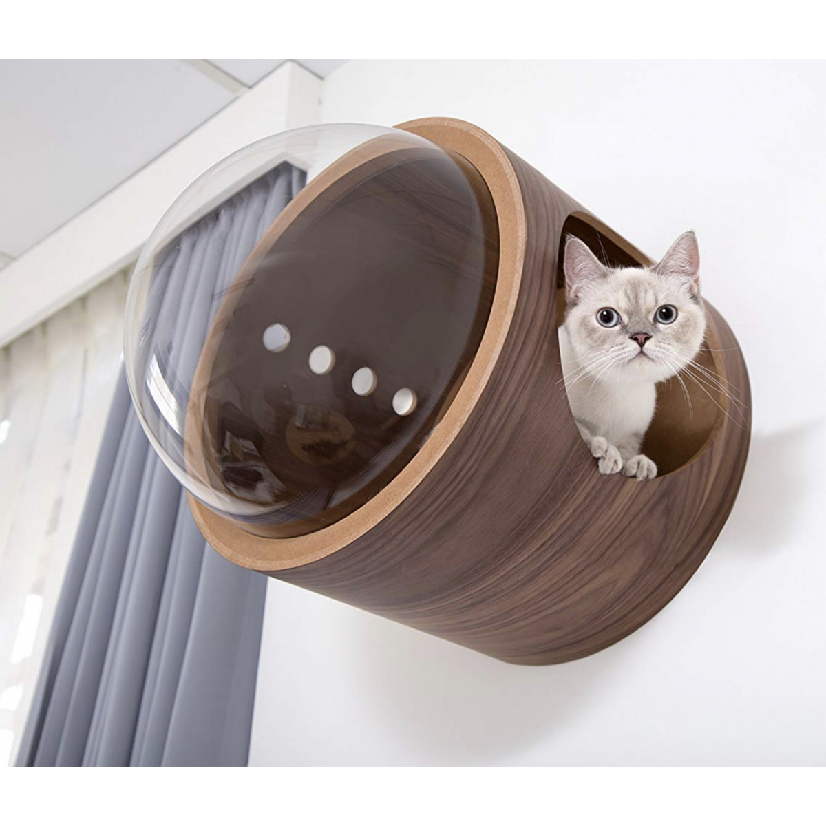 Spaceship Gamma Ultra Modern Cat Bed Or Wall Mounted Bed 236