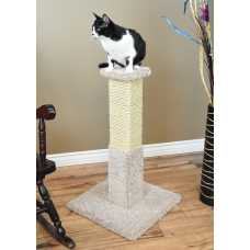 Cat's Choice 32 inch Solid Wood Scratching Post