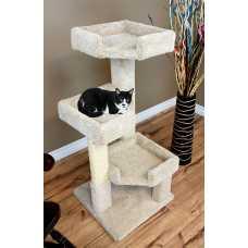 Cat's Choice 45 Inch Triple Level Corner Tree