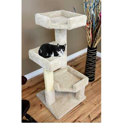 Cat's Choice 46 Inch Solid Wood Triple Kitty Pad