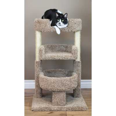 Cat's Choice Round 33 Inch Triple Cat Perch Image