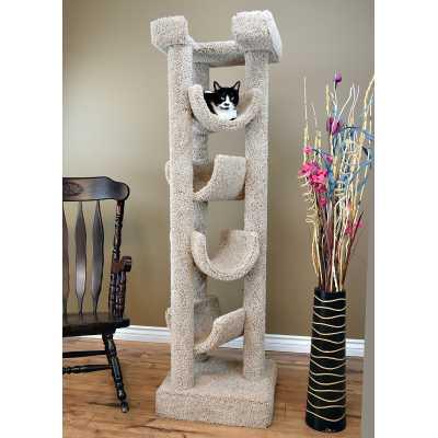 Cat's Choice Solid Wood 6 Foot Skyscraper Cat Tree Image