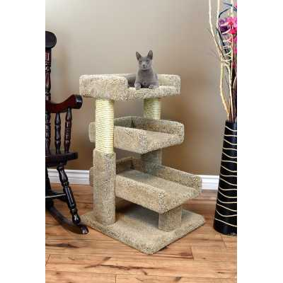 Cat's Choice Solid Wood Large Triple Cat Perch