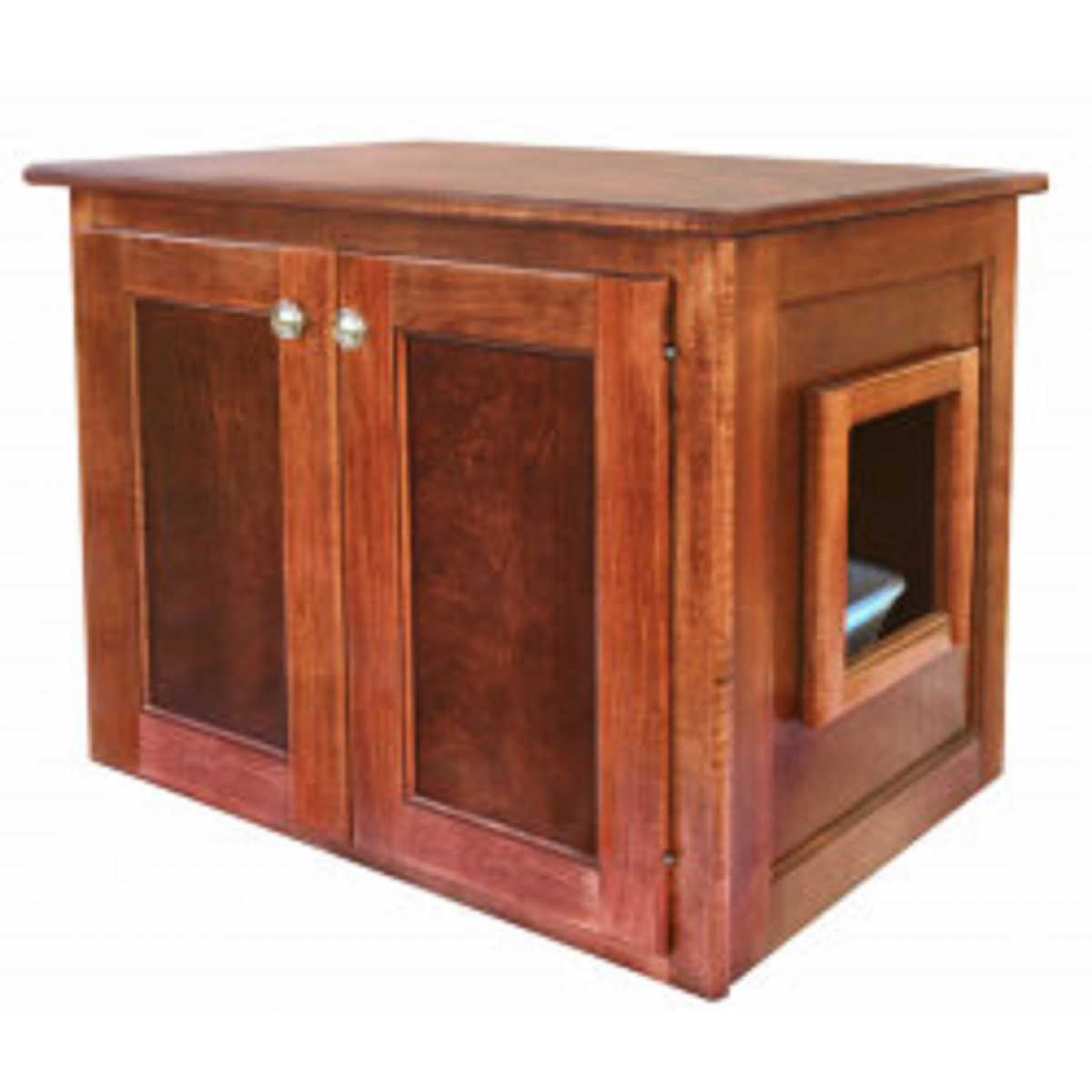 Amish Made Cat Litter Box Cabinet Large Catsplay Superstore