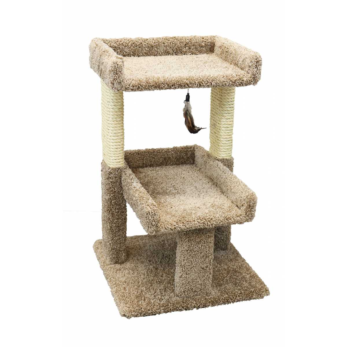 Cat S Choice 32 Inch Double Level Cat Tree 110093 Catsplay Superstore