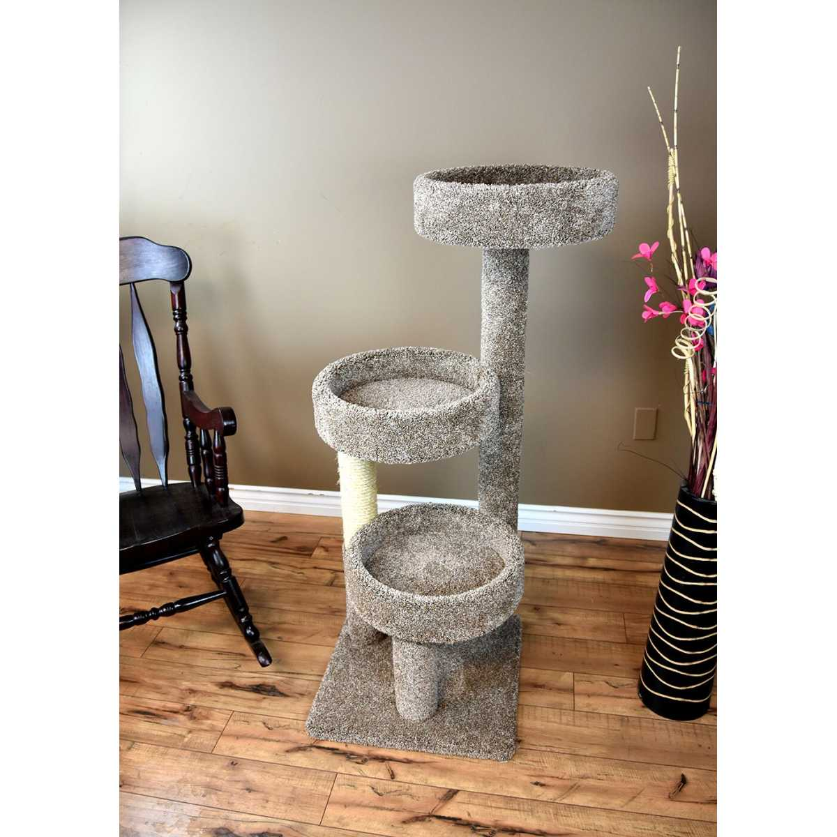 Cat S Choice 50 Inch Triple Tub Cat Tree 190128 Catsplay Superstore