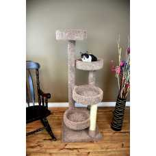 Cat's Choice 61 Inch Solid Wood Cat Playground**