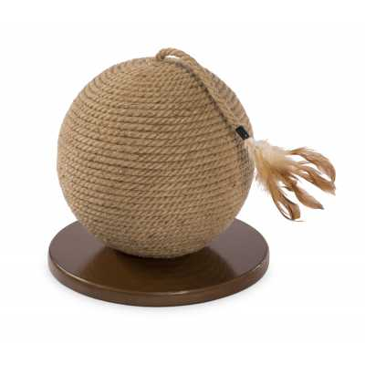 Cat Power Scratching Sphere with Tassel Toy 7130