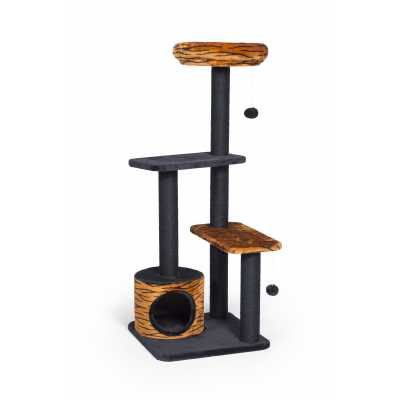 Kitty Pretty Paws Tiger Tower 7303