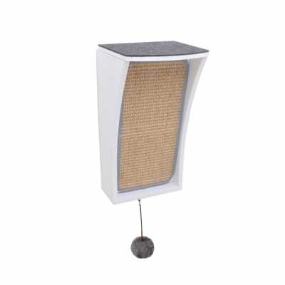 CATchall Wall-mounted Cat Scratcher, Perch & Storage Image