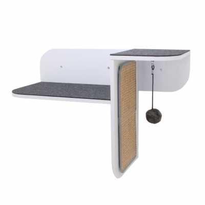Step Perch Wall-mounted Cat Perch, Scratcher & Lounge Image