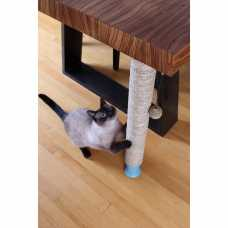 Under Table Cat Scratching Pole