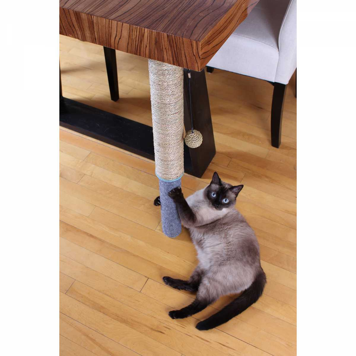 Under Table Cat Scratching Pole Catsplay Superstore